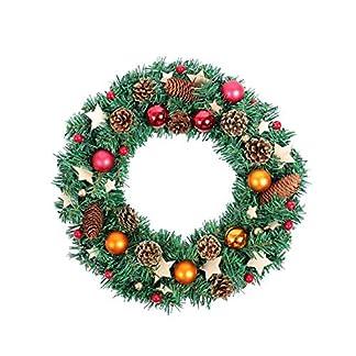 Krnze-Girlanden-Weihnachtskranz-Trkranz-Weihnachts-Hlzerne-Karte-Star-Light-fr-Home-Shopping-Mall-Fenster-Dekoration-Anhnger-Tr-Hngen