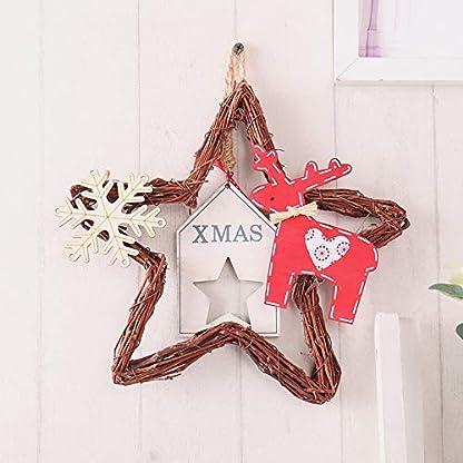 20-Led-Leuchten-Weihnachten-handgemachte-DIY-Baum-Reben-Rattan-Kranz-fnfzackigen-Stern-Dekorative-Ornamente-Anhnger