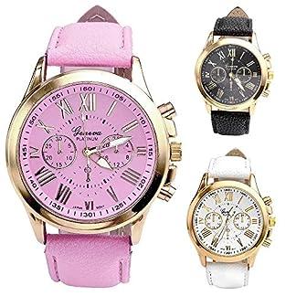 Deloito-Damen-Mode-Genfer-Uhren-Rmische-Zahlen-Kunstleder-Analoger-Quarz-Uhr-Batterie-Armbanduhren