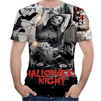 LILICAT-Halloween-T-Shirt-Sommerhemd-Herren-Gro-Gre-Tops-Mode-Kurzarm-T-Shirt-Krbis-3D-Druck-Vintage-Blusen-Oberteile-Casual-Slim-Fit-Pullover-Bequem-Outdoor-Sweatshirts