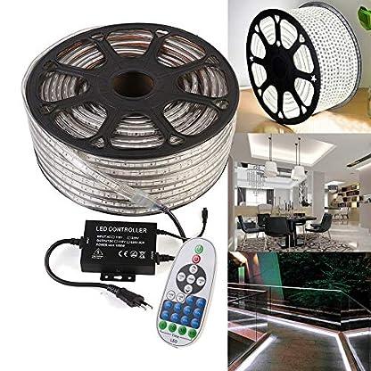 GreenSun-LED-Lighting-5050-SMD-LED-Streifen-Strip-mit-RF-Controller-Lichter-RadioFrequency-60-LEDsM-fr-Innen-und-Auen-Wasserdicht-IP68-Lichtband-Flex-Band