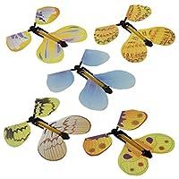 TOYMYTOY-Magie-Schmetterling-Fliegen-im-Buch-Fee-Gummiband-Angetrieben-Wind-up-Schmetterling-Spielzeug-Groe-berraschung-Geschenk-5-Stck-Zufllige-Farbe