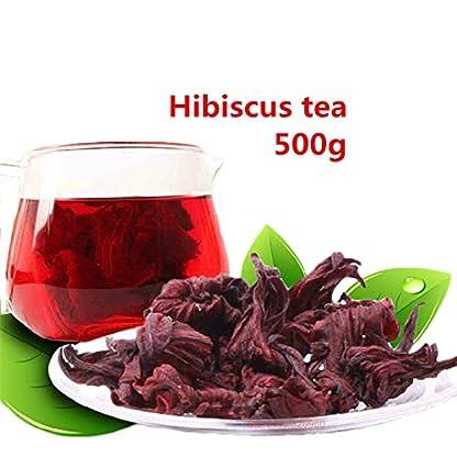 500g-11LB-Gesundheitspflege-Roselle-Tee-Hibiscus-Tee-Getrockneter-Blumen-Tee-Krutertee-duftender-Tee-Botanischer-Tee-Krutertee-Grner-Tee-Roher-Tee-Blumen-Tee-Gesundheit-Tee-Chinesischer-Tee
