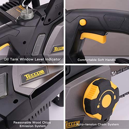 Elektrische-Kettensge-2400W-TECCPO-Kettensge-Schnittlnge-40-cm-Oregon-Kette-und-Schwert-Kettensge-Geschwindigkeit-15ms-doppelte-Sicherheitsschalter-und-mechanische-Bremse-TACS01G