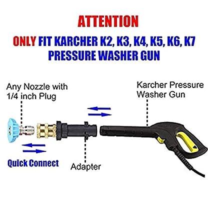 Sepikey-Adapter-Hochdruckreiniger-Krcher-K-Schnell-Adapter-Reinigungsschaum-Topfreinigung-14-Fr-Krcher-K-K2-K3-K4-K5-K6-K7
