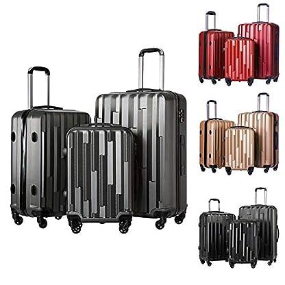 Koffer-Hartschalenkoffer-Trolley-Kofferset-Reisekoffer-M-L-XL-Set-HT-Series