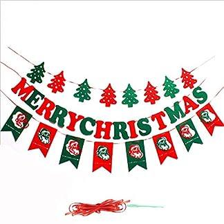 Amaoma-Weihnachtsdeko-Girlanden-Weihnachtsgirlande-Frohe-Weihnachten-Banner-Weihnachtsdeko-Tr-Frohe-Weihnachten-Baum-Weihnachtsmann-Banner-Hngenden-Stoff-Flagge-fr-Innen-und-Auendekoration-3-Pack