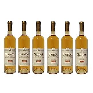 6x-Griechischer-Weiwein-Samos-Vin-Doux-je-750ml-Muscat-Muskat-Wein-aus-Griechenland-Likrwein-Wei-Wein-Spar-Set-Sachet-10ml-Olivenl-aus-Kreta