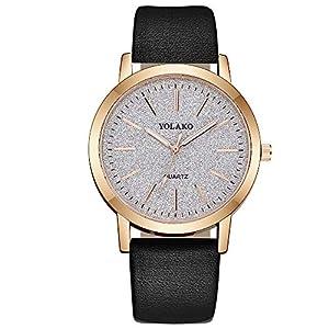 Uhren-Damen-Analog-Rosegold-Quarzuhren-mit-Sternenhimmel-Zifferblatt-Armbanduh-mit-Edelstahl-Uhrenband-Schmale-Mesh-Metall-Armband-Ultra-Dnne-Minimalistische