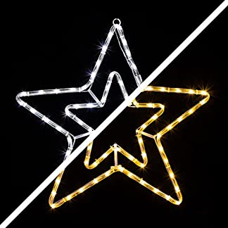 LED-Stern-mit-72-LEDs-leuchtet-wahlweise-warmwei-oder-wei-8-schaltbare-Progr