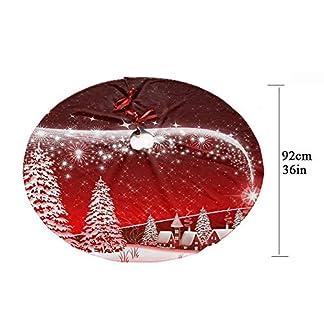 Z-KOKO-Weihnachtsbaum-Rock-Muster-gedruckt-Design-354-Zoll-Magie-Kein-Ausbleichen-Baumrcke-fr