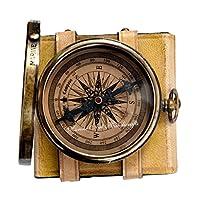 Robert-Frost-Gedicht-bestes-Weihnachtsgeschenk-gravierte-Messingkompass-mit-Emboss-Nadel-Ledertasche–C-3240