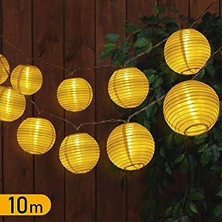 TAOCOCO-10M-LED-Lichterkette-Auen-35-LED-Lampions-Laterne-Strombetrieben-mit-EU-Stecker-fr-Innen-und-Auen-Gartenlaterne-Deko-3m-35V-Sicherheitsnetzteil-Warmwei