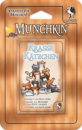 Pegasus-Spiele-17010G-Munchkin-Booster-Krasse-Ktzchen