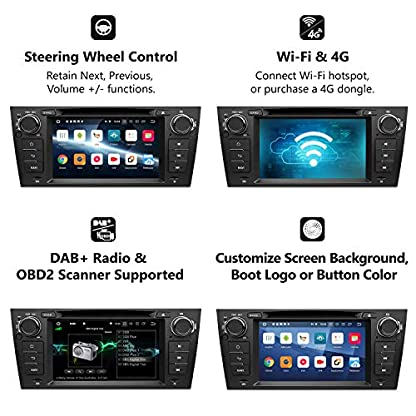 eonon-GA9265B-Android-81-passend-fr-BMW-E90-E91-E92-E93-Quad-Core-2G-RAM-32G-ROM-178-cm-HD-Touchscreen-Indash-Autoradio-Audio-Video-DVD-GPS-USB-FM-AM-RDS-Bluetooth-Headunit-support-4G-WiFi-DAB