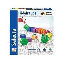 Selecta-63005-Fdelraupe-Wrfel-und-Fdelspiel-Mehrfarbig