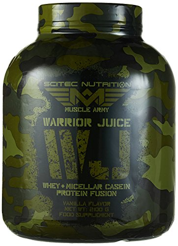 Scitec Nutrition Muscle Army Warrior Juice Vanille, 1er Pack (1 x 2.1 kg)