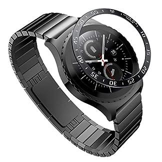 Siswong-Fr-Samsung-Gear-S2-Classic-Ringkleber-Abdeckung-Anti-Scratch-Edelstahl-Getztes-Wort-Lnette-Ring-Selbstklebende-Uhr-Schutzhlle-ABCEF-Stil