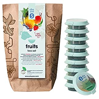 Shuyao-Teekultur-Fruits-Tea-Set-naturreiner-loser-Frchtetee