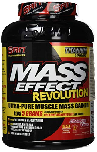 San Mass Effect Revolution (6.6lbs) Strawberry Cream, 2958 g