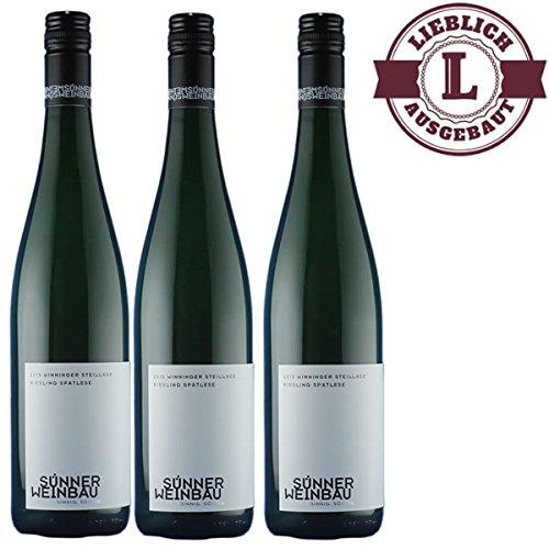 Weiwein-Weingut-Horst-Snner-Winninger-Steillage-Riesling-Sptlese-fruchtig-2015-3-x-075-l-VERSANDKOSTENFREI