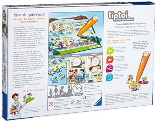 Ravensburger-0523-tiptoi-Puzzeln-Entdecken-Erleben-Beim-Kinderarzt