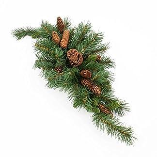 artplants-Knstlicher-Tannen-TrbogenTischlufer-Alfred-mit-Zapfen-75-cm-schwer-entflammbar-wetterfest-Deko-Weihnachten