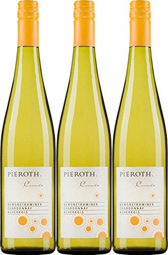 Pieroth-Cuve-Gewrztraminer-Chardonnay-Auxerrois-QbA-2016-Trocken-3-x-075-l