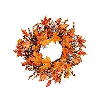 bozitian-Halloween-Kranz-Ahornkranz-Knstlicher-Runder-Herbst-Tr-Kranz-Herbstdeko-Fr-Weihnachten-Halloween-Thanksgiving-Heim-Fenster-Party-Dekor