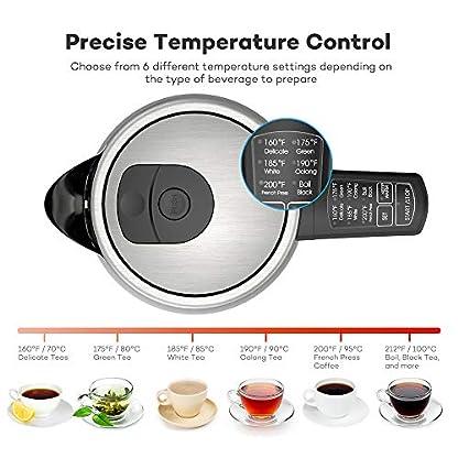 VAVA-Wasserkocher-Edelstahl-17L-Elektrischer-Wasserkocher-mit-6-Temperatureinstellung-fr-alle-Getrnke-BPA-Frei-Trockengehschutz-Warmhaltefunktion-Silber