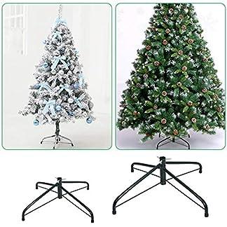 Weihnachtsbaumstnder-Toller-knstlicher-Weihnachtsbaumstnder-aus-Metall-zum-Zusammenklappen-mit-Halterung-fr-knstliche-Weihnachtsbume-30cm-50cm