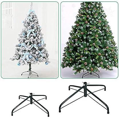 Weihnachtsbaumstnder-Klappbarer-Baumstnder-aus-Metall-mit-Montagezubehr-30cm-50cm-fr-die-Dekoration-im-Baumarkt