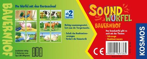 Kosmos-697365-Soundwrfel-Bauernhof-Kinderspiel