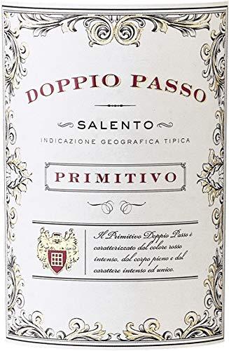 VINELLO-3er-Weinpaket-Primitivo-Doppio-Passo-Primitivo-Salento-2019-CVCB-mit-Weinausgieer-halbtrockener-Rotwein-italienischer-Wein-aus-Apulien-3-x-075-Liter