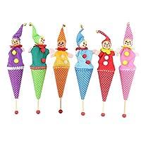 Domybest-Ausziehbar-Lchelnden-Clown-verstecken-suchen-Baby-Kinder-Spielzeug-Zufllige-Farben