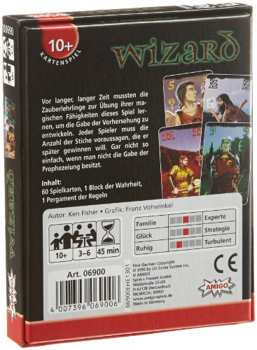 Amigo-6900-Wizard-Kartenspiel