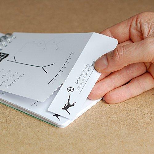 GALGENMNNCHEN-Errate-60-Begriffe-der-Spiele-Klassiker-aufgelegt-Ideales-Geschenk-fr-Jedermann-Reisespiel-Partyspiel-Handlicher-A6-Block-Manufaktur-Qualitt