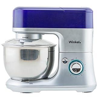 Winkel-RX80-Kchenmaschine-4-L-Schssel-aus-Edelstahl-650-W-Leistung-6-Geschwindigkeitsstufen-Fleischwolf-Mixbecher-Aufsatz-violett