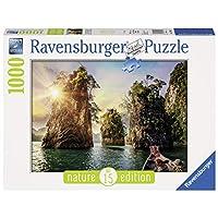Ravensburger-Erwachsenenpuzzle-13968-Ravensburger-13968-Three-Rocks-in-Cheow-Thailand-Erwachsenenpuzzle