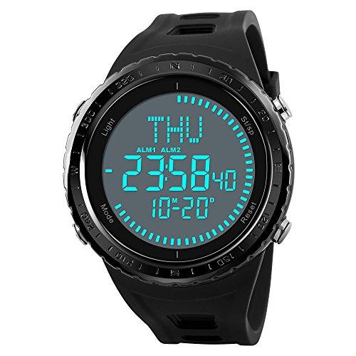 neuer kompass herren armbanduhr digitale sport armbanduhr. Black Bedroom Furniture Sets. Home Design Ideas