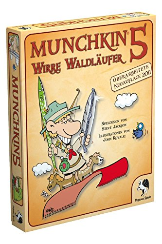 Pegasus-Spiele-17215G-Munchkin-5-Wirre-Waldlufer