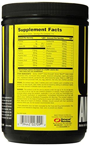 Universal Nutrition, Amino Standard, 594 g