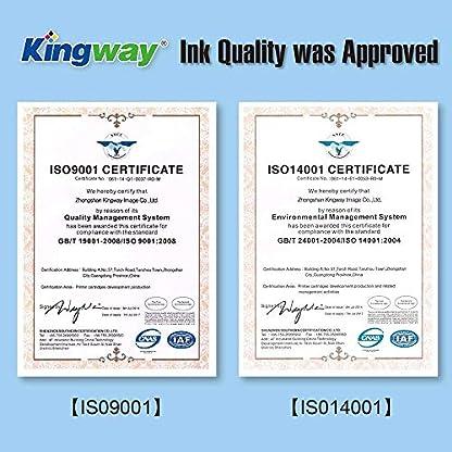 Kingway-302XL-Wiederaufbereitete-Tintenpatronen-fr-HP-302-302XL-Schwarz-dreifarbig-fr-HP-Officejet-3830-3831-3832-3834-4650-4654-4658-DeskJet-1110-2130-2132-3630-3632-3634