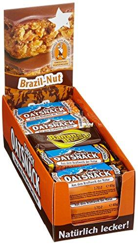 Energy OatSnack, Mix Box – alle Geschmacksrichtungen, natürliche Riegel – von Hand gemacht, 3 x 70 g und 12 x 65 g, 1er Pack (1 x 990g)