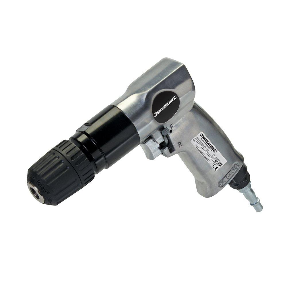 Silverline-793759-Druckluftbohrmaschine-mit-Rechts-Linkslauf-10-mm