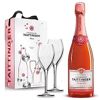 Taittinger-Champagner-075l-Brut-Prestige-Ros-mit-zwei-Glser-im-Geschenkkarton-Geschenkset