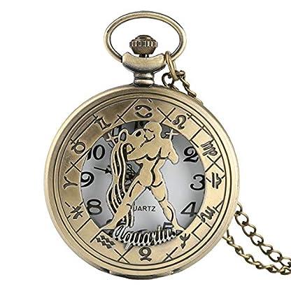 Herren-Taschenuhr-Wassermann-Quarz-Taschenuhr-Sternbilder-Serie-Uhr-Geschenke-fr-Mnner-Frauen