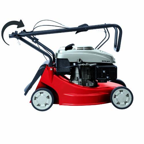 Einhell-Benzin-Rasenmher-GH-PM-40-P-16-kW-40-cm-Schnittbreite-3-fache-Schnitthhenverstellung-32-62-mm-45-l-Fangsack