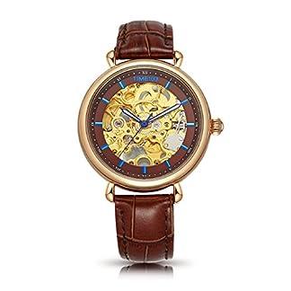 Time100-Damenuhr-mechenische-Skelett-Uhr-Automatik-Leder-Schwarz-W60156L02A