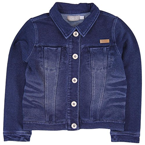 Boboli Mädchen Jacke Fleece Jacket Denim For Girl